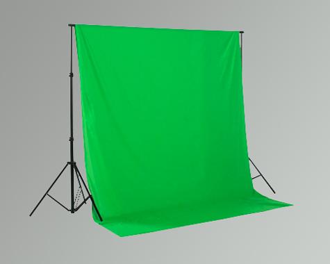 Fotostudio Hintergrund 2,5m breit x 6m lang greenscreen Stoffhintergrund grün